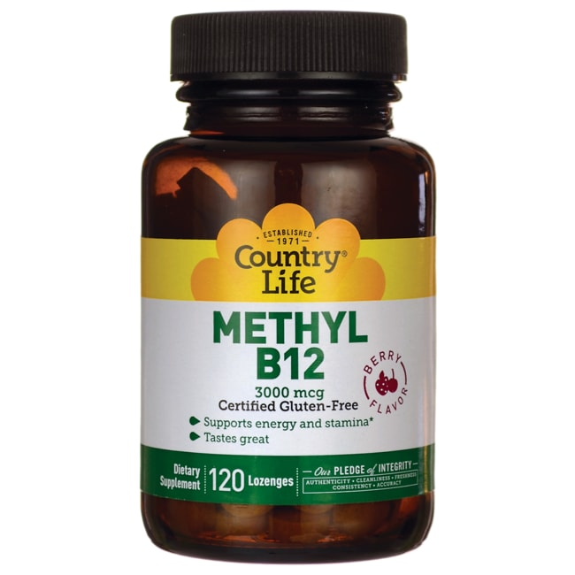 Country Life Superior B12 Berry Flavor