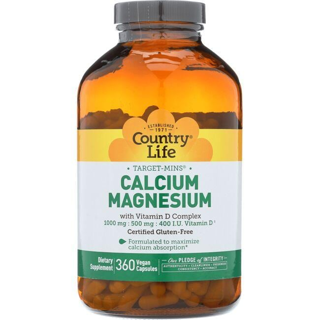 Country LifeTarget-Mins Calcium-Magnesium