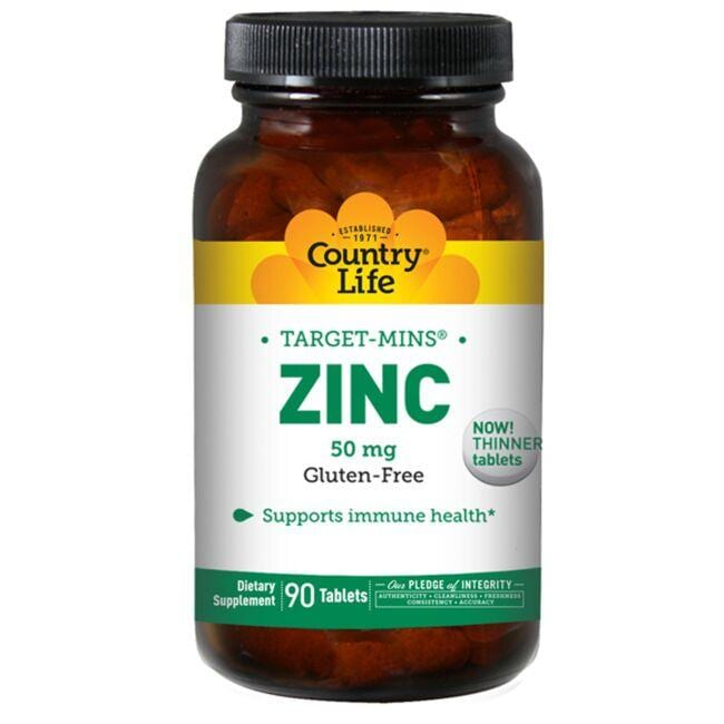 Country LifeTarget-Mins Zinc