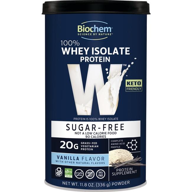 Biochem100% Whey Protein Sugar Free - Vanilla