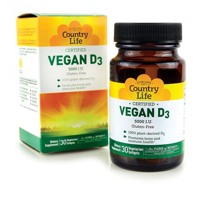 Country Life Vegan D3