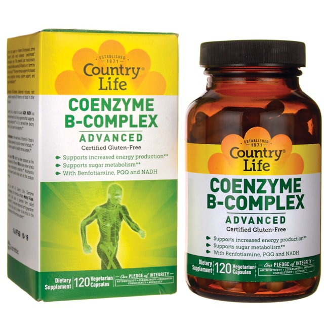 Country Life Coenzyme B-Complex Advanced