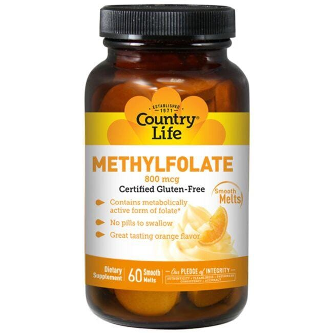 Country Life Methylfolate - Orange