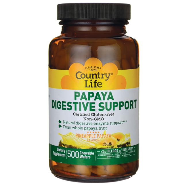 Country Life Papaya Digestive Support