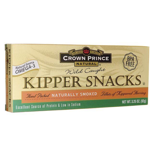Crown Prince Wild Caught Kipper Snacks