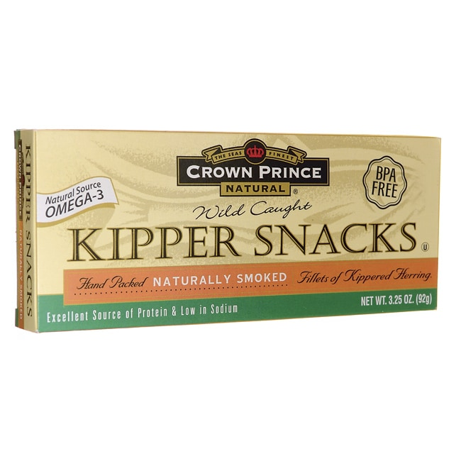 Crown PrinceWild Caught Kipper Snacks
