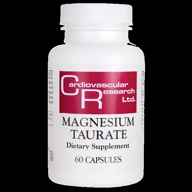 Cardiovascular Research Taurato de magnesio