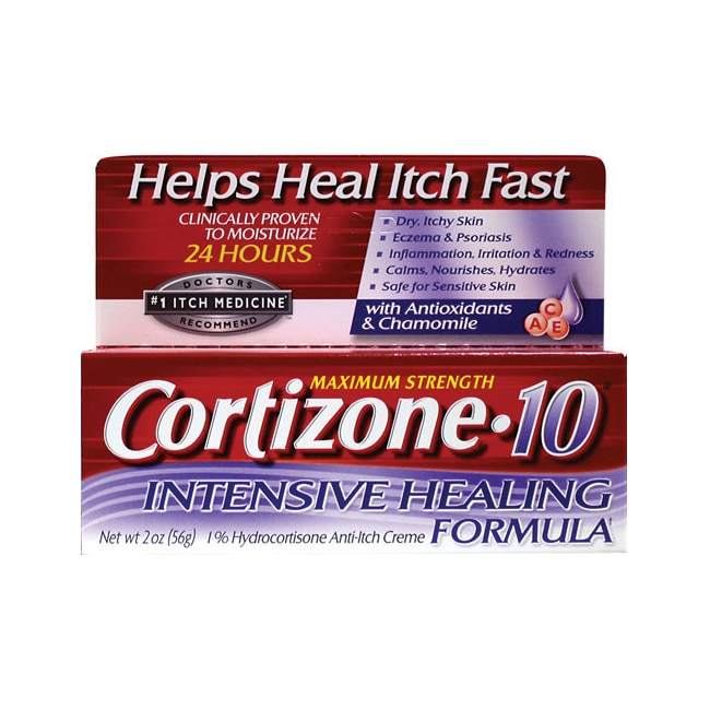 Cortizone Maximum Strength Cortizone 10 Intensive Healing Formula