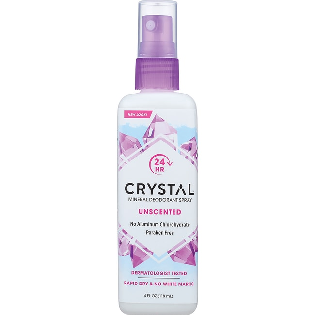 Crystal Body Deodorant Spray