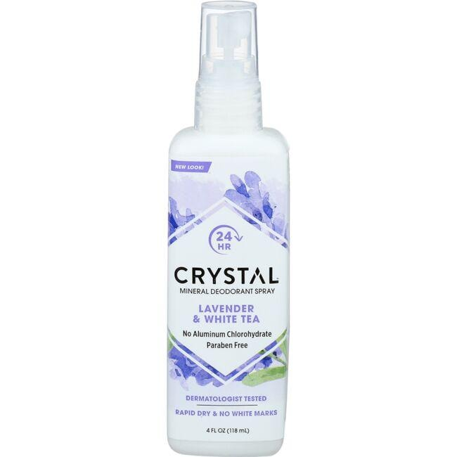 CrystalMineral Deodorant Spray Lavender & White Tea