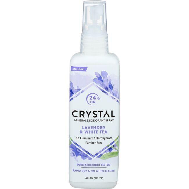 CrystalBody Deodorant Spray Lavender & White Tea