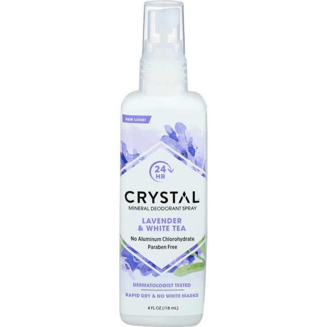 CrystalBody Deodorant Spray Lavender & White Tea