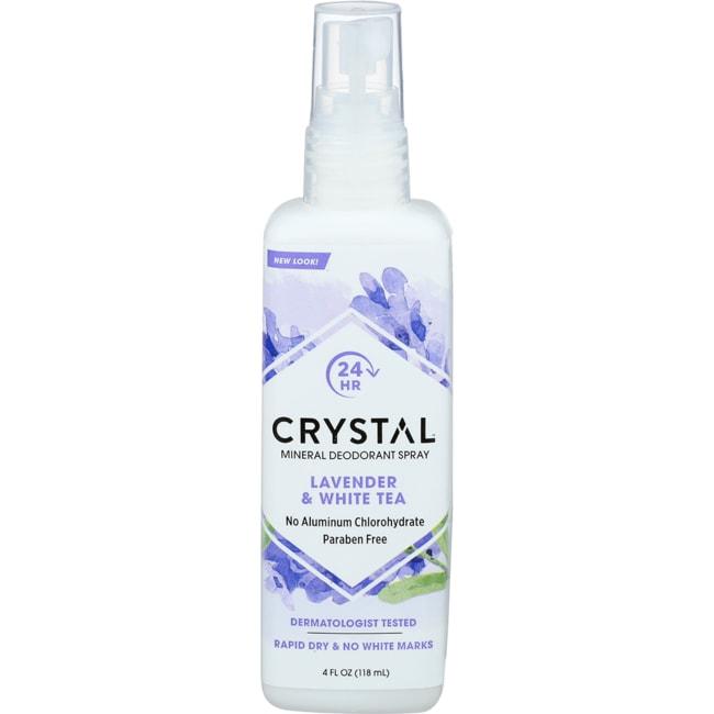 Crystal Body Deodorant Spray Lavender & White Tea