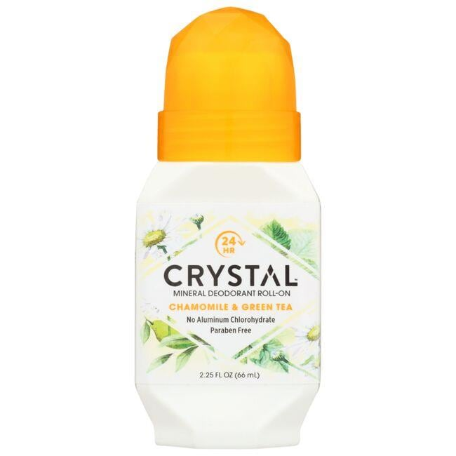 CrystalRoll-On Deodorant Chamomile & Green Tea