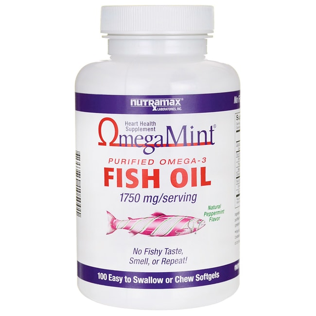 Nutramax Laboratories Consumer Care OmegaMint