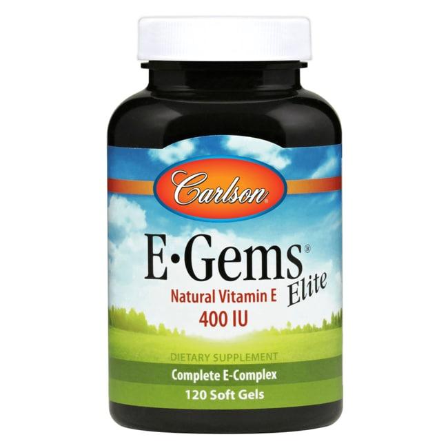 Carlson E-Gems Elite - Natural Vitamin E