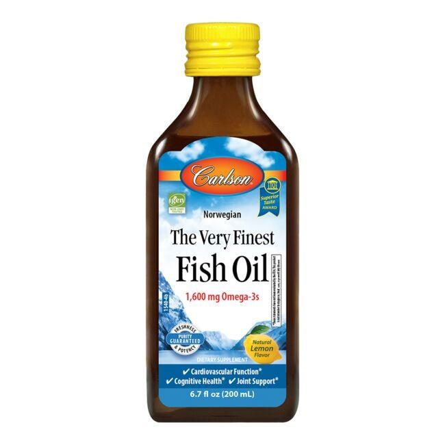 Carlson The Very Finest Fish Oil - Lemon