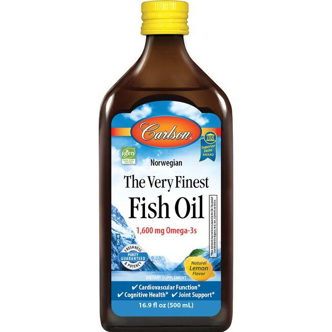 CarlsonThe Very Finest Fish Oil - Lemon