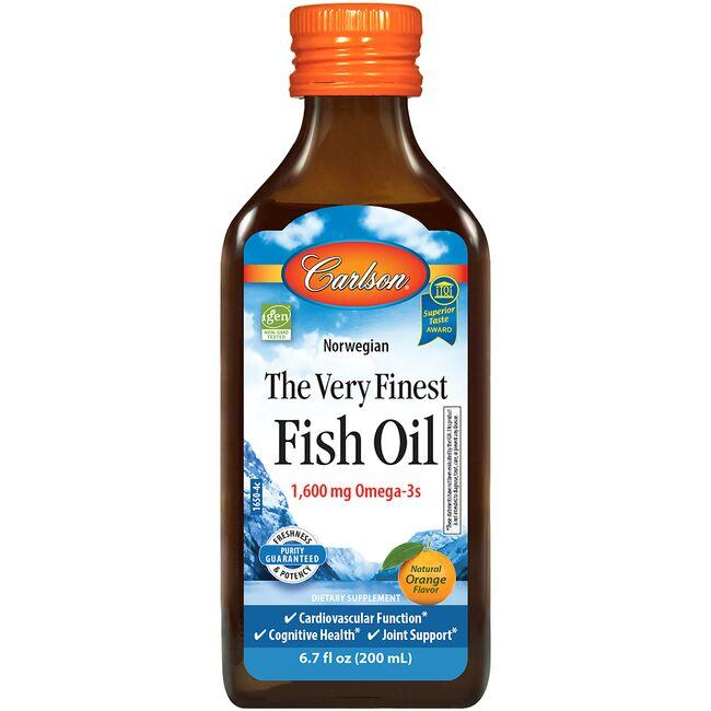 Carlson The Very Finest Fish Oil - Orange