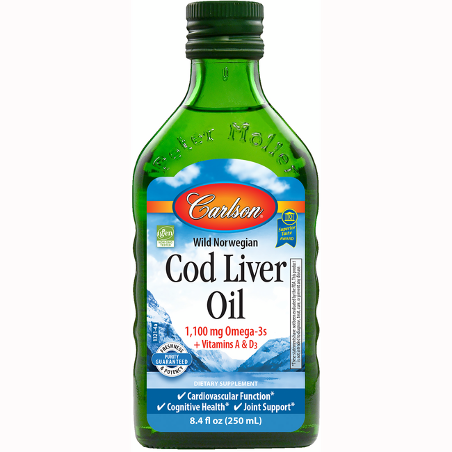 Carlson Cod Liver Oil Unflavored