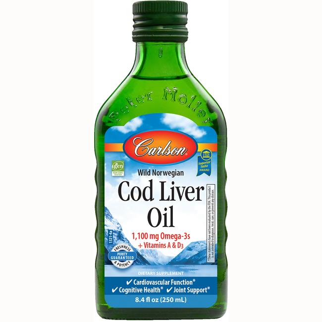 CarlsonNorwegian Cod Liver Oil