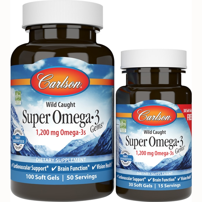 Carlson Super Omega-3 Gems