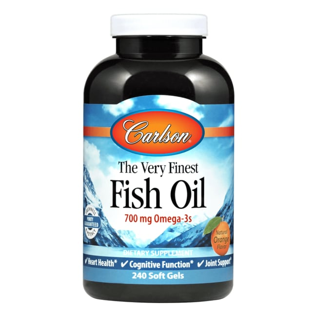 Carlson The Very Finest Fish Oil 240 Sgels Swanson