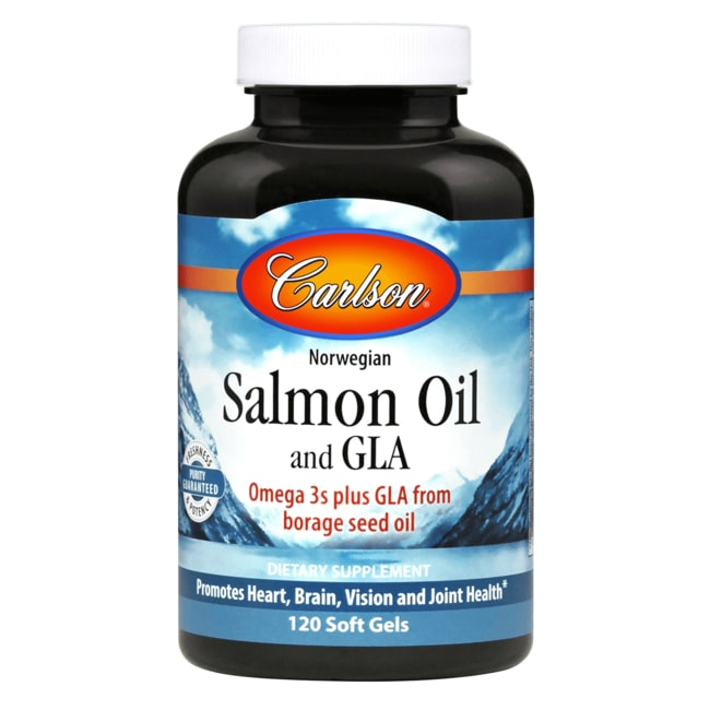 CarlsonSalmon Oil & GLA