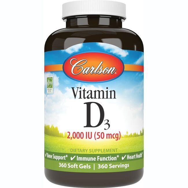 CarlsonVitamin D3