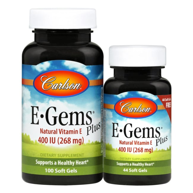 CarlsonE-Gems Plus - Natural Vitamin E