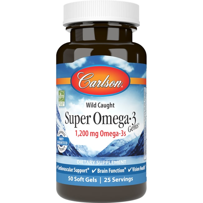 Carlson super omega 3 gems fish oil 1 000 mg 50 sgels for Carlson fish oil review