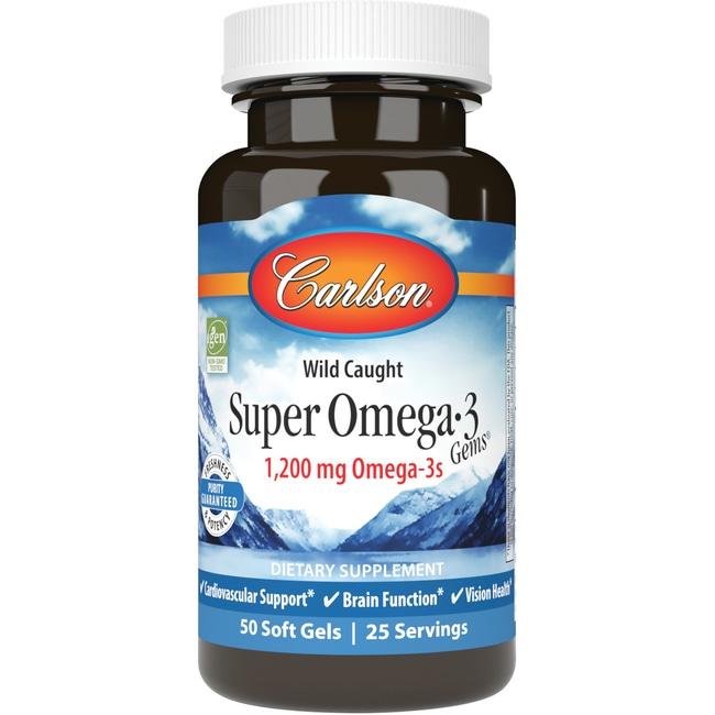 Carlson Super Omega 3 Gems Fish Oil
