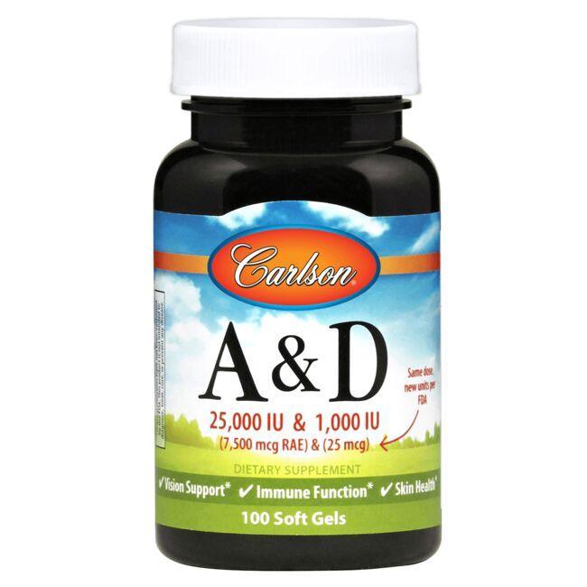 CarlsonVitamin A & D