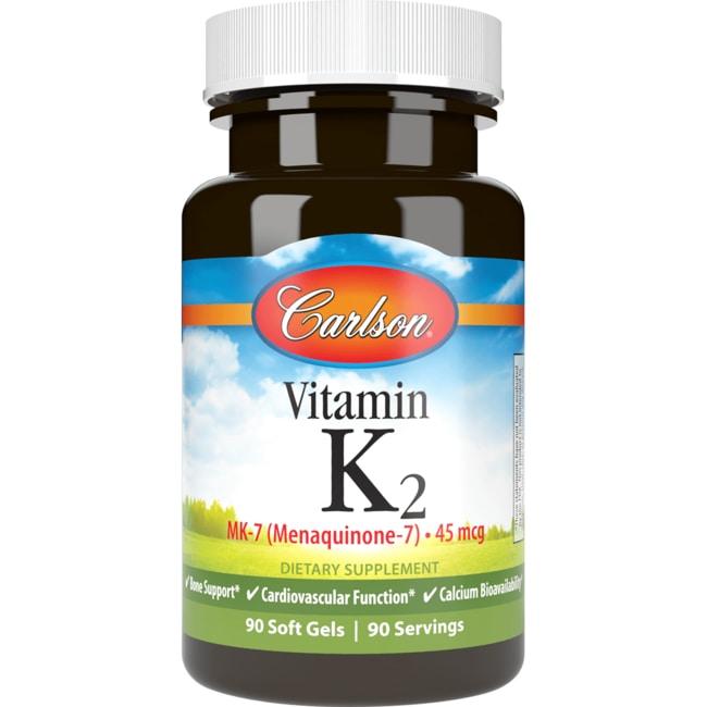 CarlsonVitamin K2 - MK-7 (Menaquinone-7)