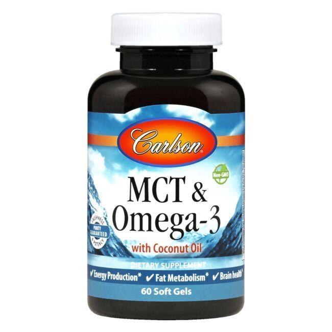 CarlsonMCT & Omega-3