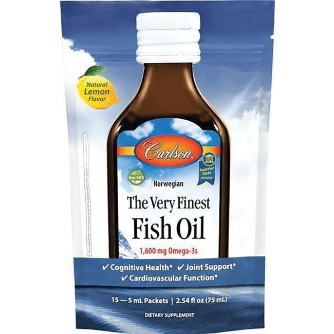 CarlsonNorwegian The Very Finest Fish Oil - Lemon