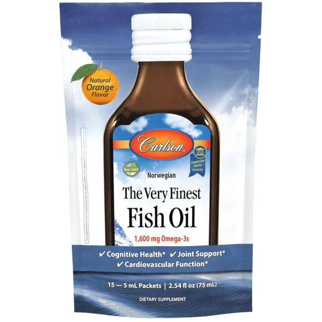 CarlsonNorwegian The Very Finest Fish Oil - Orange