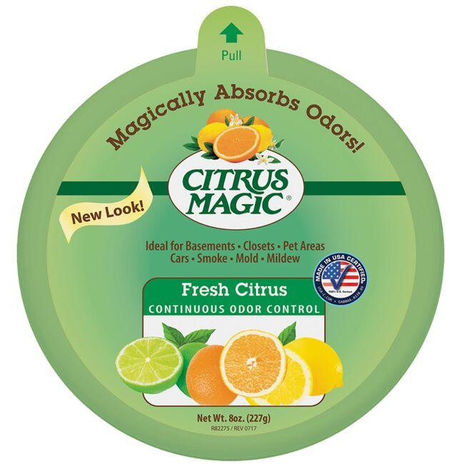 Citrus Magic Solid Air Freshener - Fresh Citrus