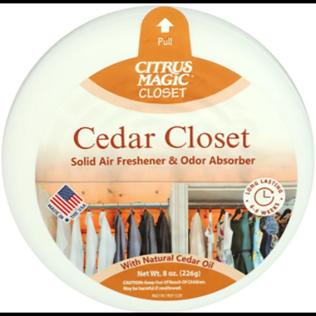 Citrus Magic Cedar Magic Solid Air Freshener with Natural Cedar Oil