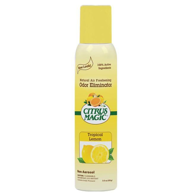 Citrus Magic Natural Air Freshening Odor Eliminator - TropicalLemon