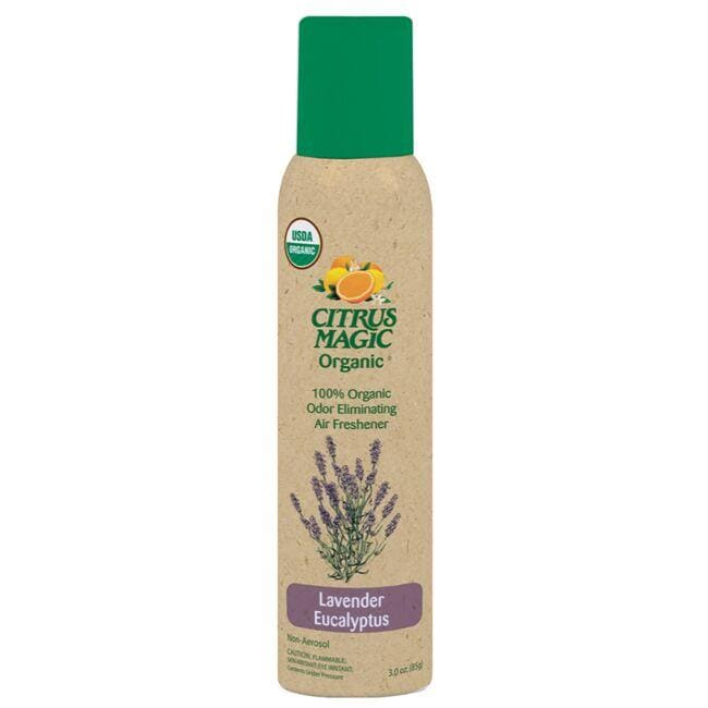 Citrus Magic Organic Odor Eliminating Air Freshener - Lavender Eucalyptus
