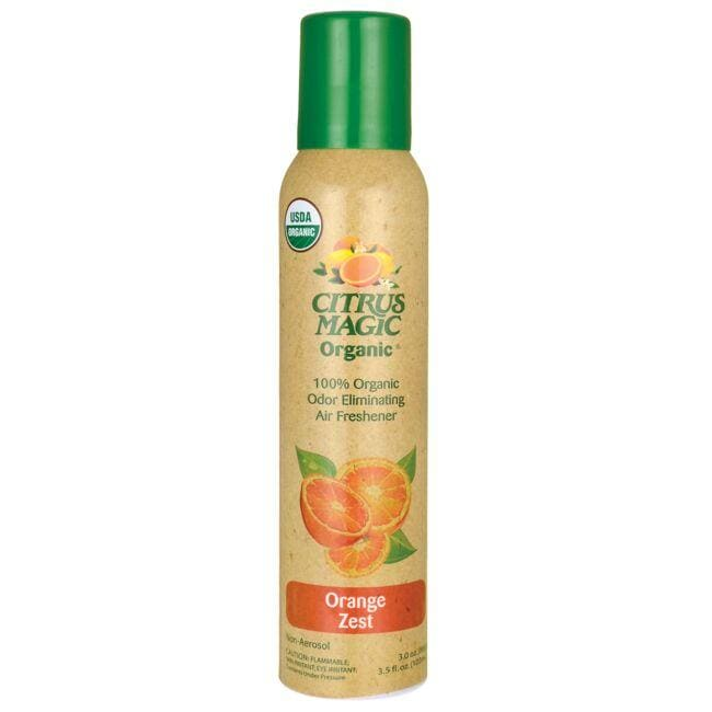 Citrus Magic Organic Odor Eliminating Air Freshener - Orange Zest
