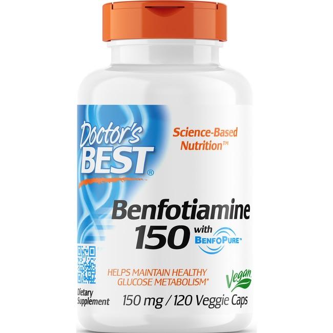 Doctor's Best Best Benfotiamine 150