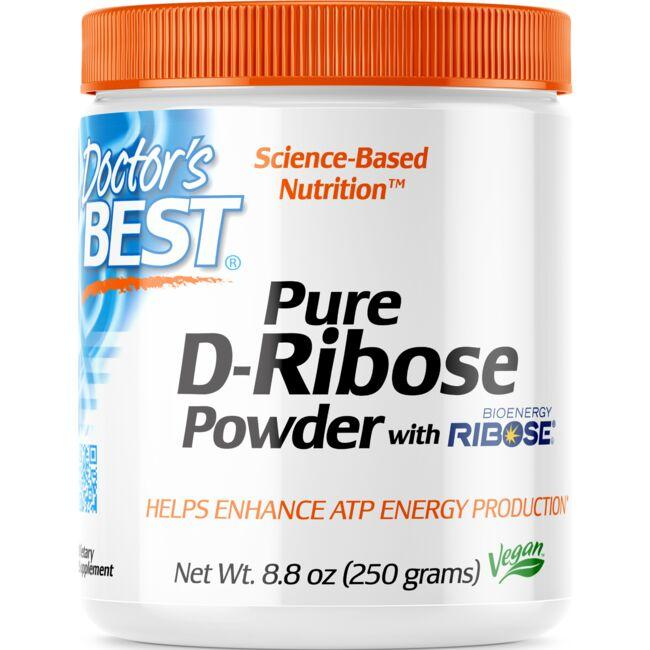Doctor's Best Pure D-Ribose Powder with Bioenergy Ribose