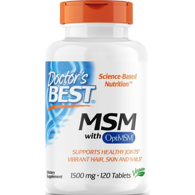 Doctor's Best Best MSM 1500
