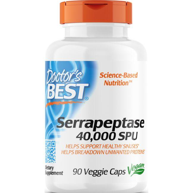 Doctor's Best Serrapeptase