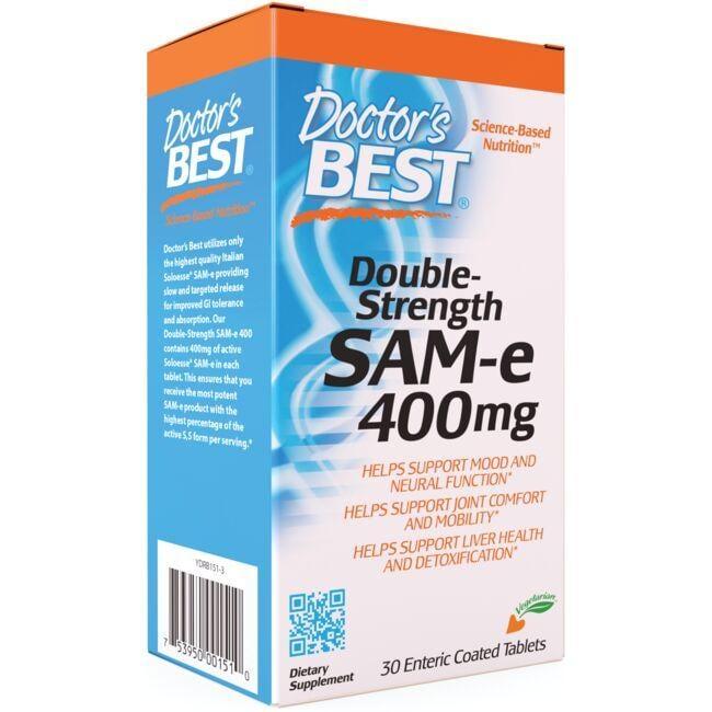 Doctor's BestDouble-Strength SAM-e