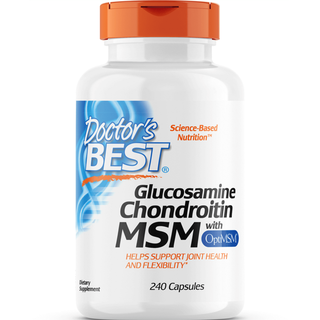 Doctor's BestGlucosamine Chondroitin MSM with OptiMSM