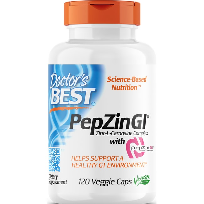 Doctor's BestZinc Carnosine Complex with PepZin GI