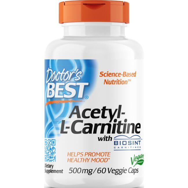 Doctor's Best Acetyl-L-Carnitine with Biosint